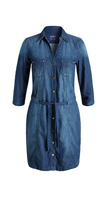 97dd7f70716 Esprit / Denim dress in 100% cotton   Caroline   Dresses, Jeans ...
