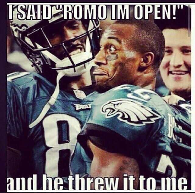 Eagles Vs Cowboys Humor With Images Funny Football Memes Nfl