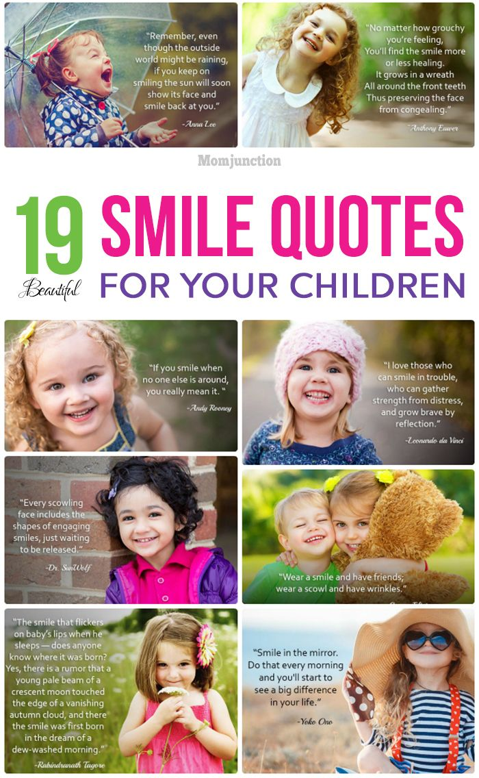 19 Beautiful Kids Smile Quotes Baby Smile Quotes Child Smile Quotes Smile Quotes