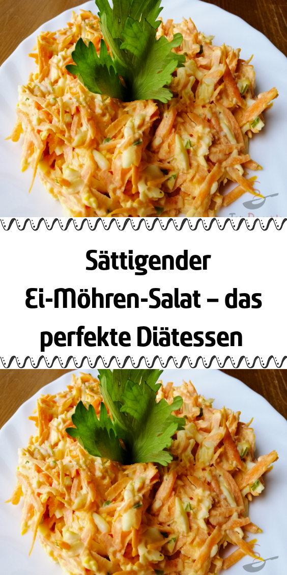 Photo of Saturating egg and carrot salad – the perfect diet meal
