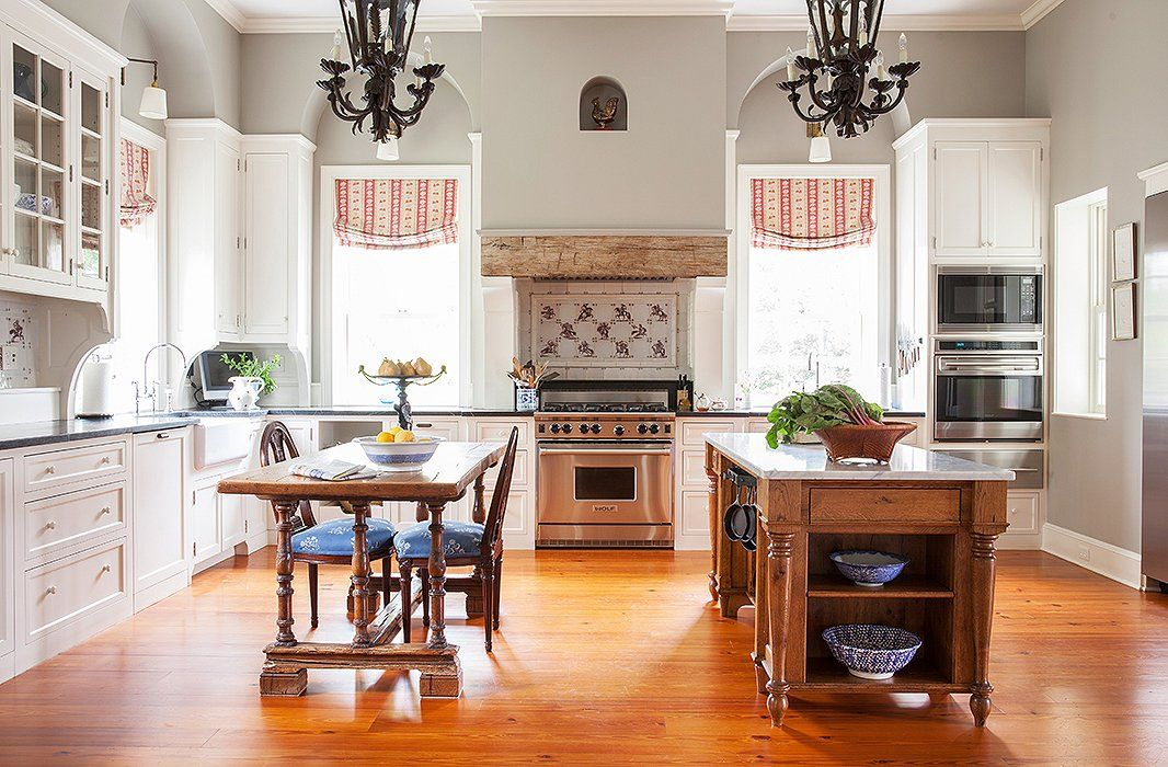 Inside An Estate With Gorgeous Southern Grace  Kitchens Impressive How Much Do Kitchen Designers Make Inspiration Design