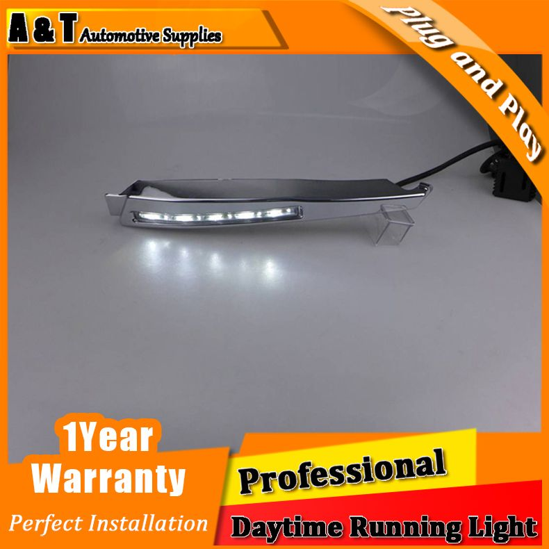 $239.00 (Buy here: http://appdeal.ru/fue5 ) Car styling For Jaguar XF LED DRL For XF led fog lamps daytime running lights High brightness guide LED DRL for just $239.00