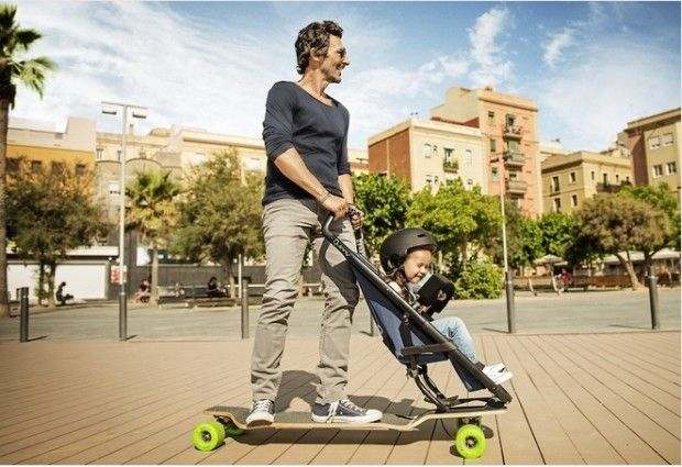 longboard-kinderwagen Inspiration Pinterest