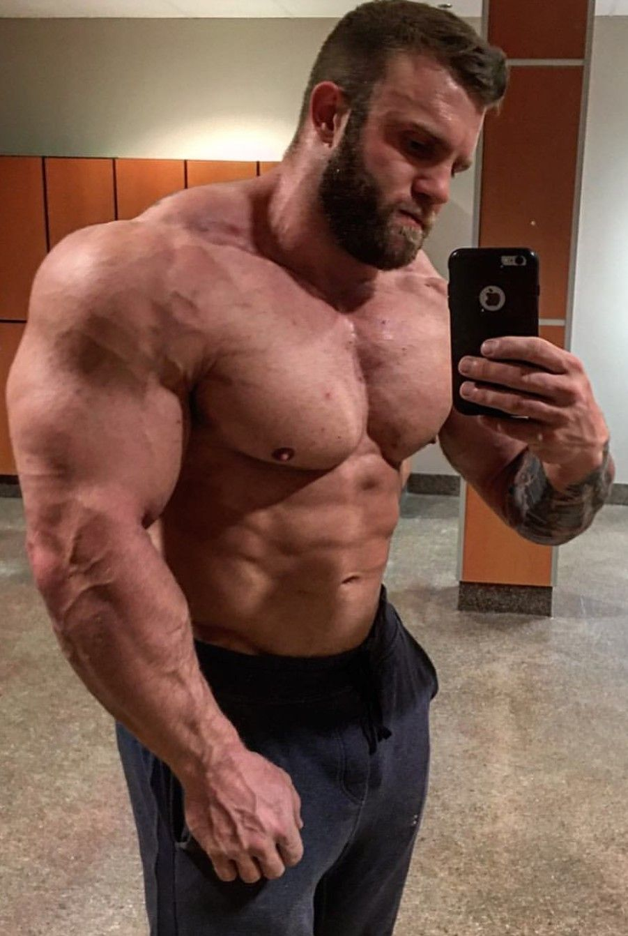 Muscle lad need a gigantic penis bb