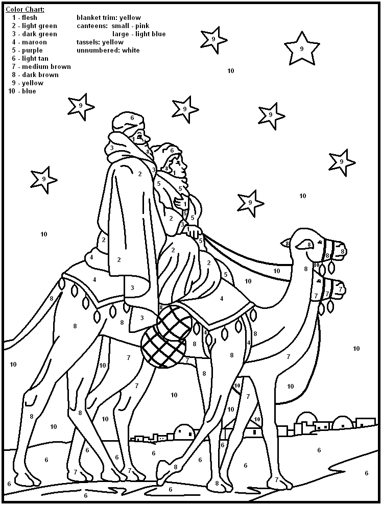 92 Free Printable Jesus Coloring Pages Christmas Color
