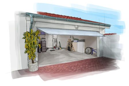 Amenagement Interieur Garage | Croquis | Pinterest | Sous Sol