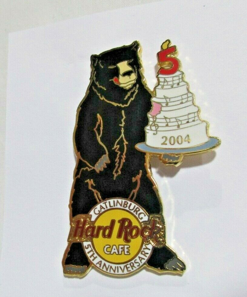 Hard Rock Cafe 2004 Gatlinburg 5th Anniversary Bear Hat