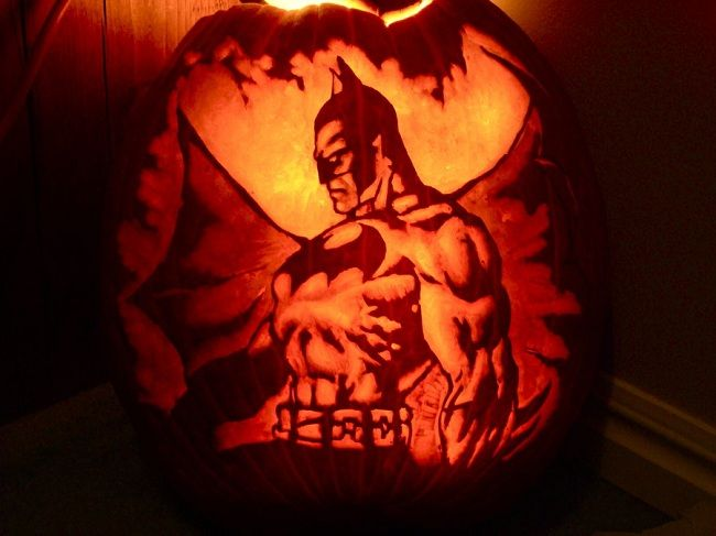 Batman Vs Superman Pumpkin Pictures Photos And Images Batman Pumpkin Carving Batman Pumpkin Halloween Pumpkins Carvings