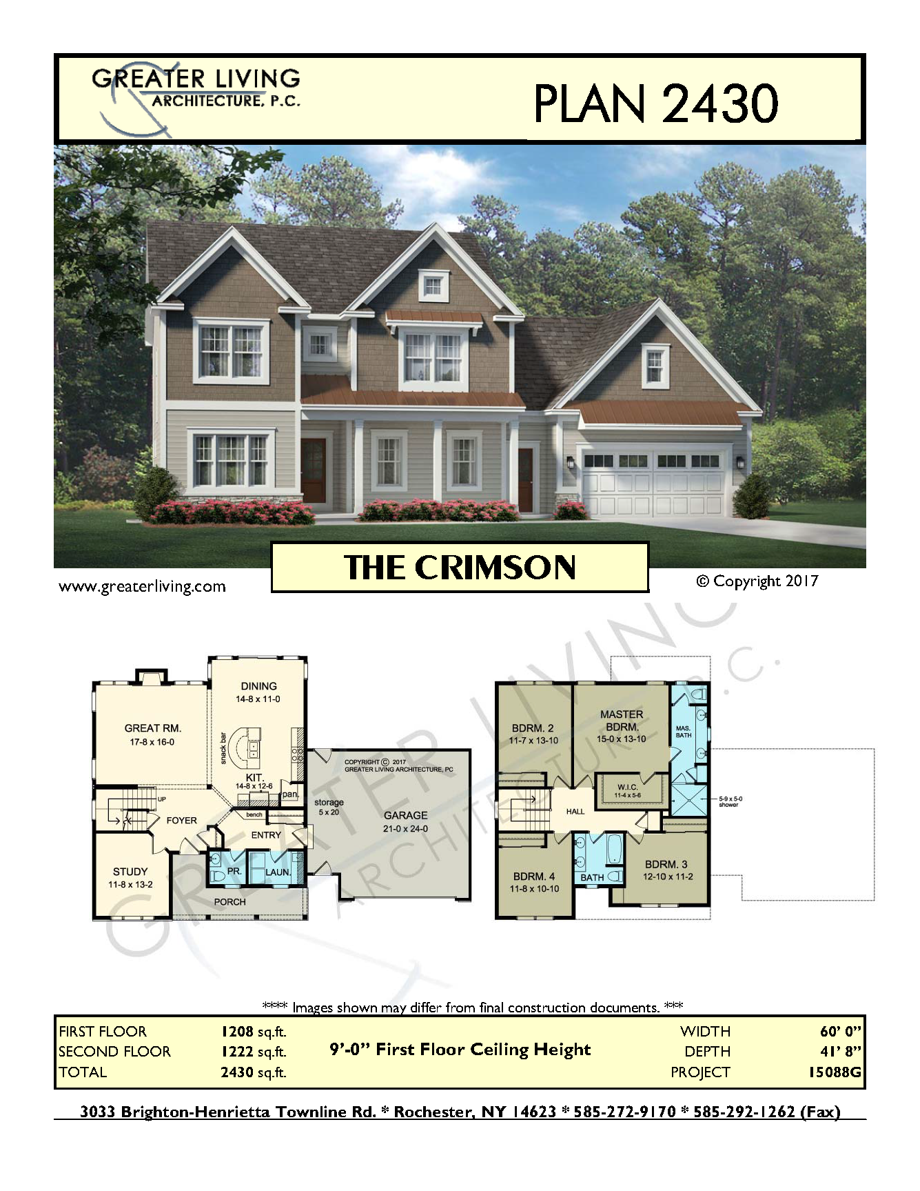 Plan 2430 The Crimson Two Story House Plan Greater Living Architecture Res Architecture Crimson Sims House Plans House Plans Craftsman House Plans