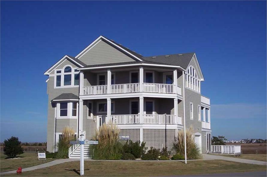 Main image for house plan # 16848 Dream house Pinterest