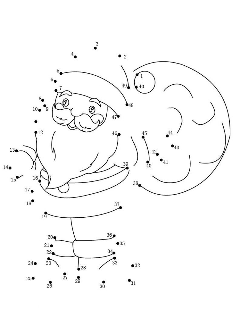 Dot To Dot Printables Best Coloring Pages For Kids Dot To Dot Printables Christmas Coloring Pages Connect The Dots
