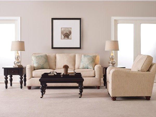 Broyhill Furniture Parker 2 Piece Good Night Queen Sleeper Sofa