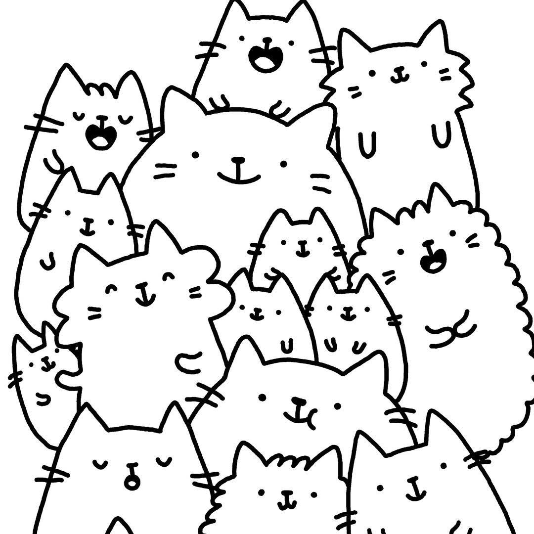 Coloring pages kawaii - Find This Pin And More On Kawaii Doodling