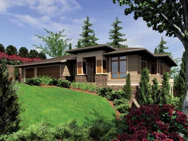 Four Bedroom Contemporary With Walkout Basement Master