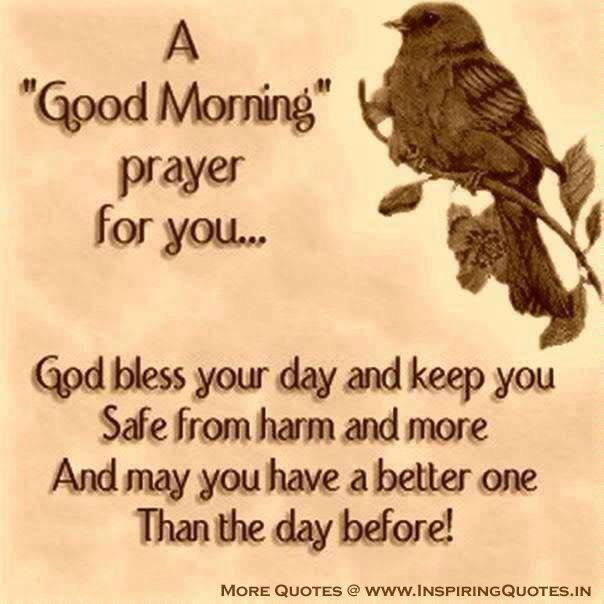 Good Morning God Bless Your Day Spiritual Prayer Quotes Thoughts