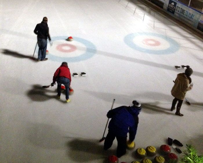 Winter Date Idea: Learn to curl at your local ice rink