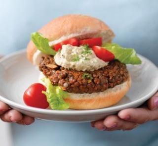 Lentil burger patties healthy food guide healthy dinner ideas lentil burger patties healthy food guide forumfinder Gallery