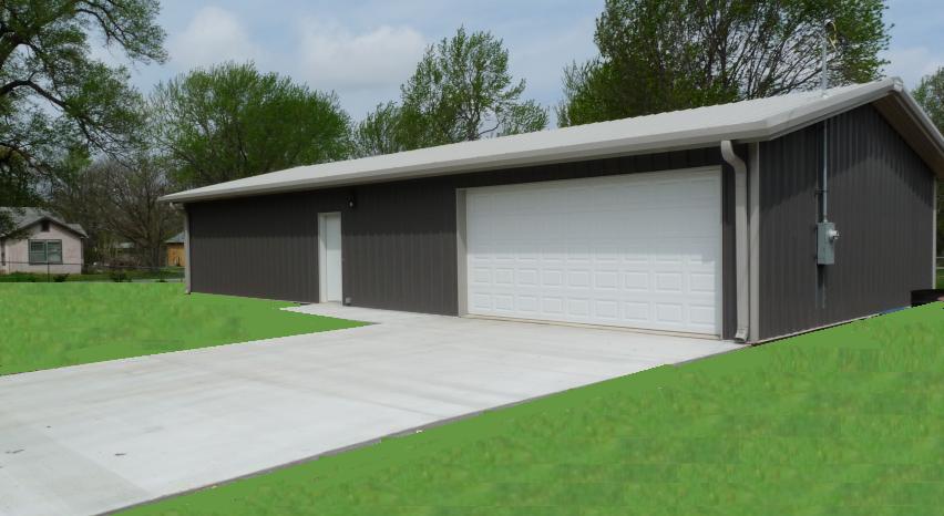 Steel Building Kit 30x60x12 Metal Barn Garage Shop Structure Metal Building Kits Garage Door Design Steel Buildings