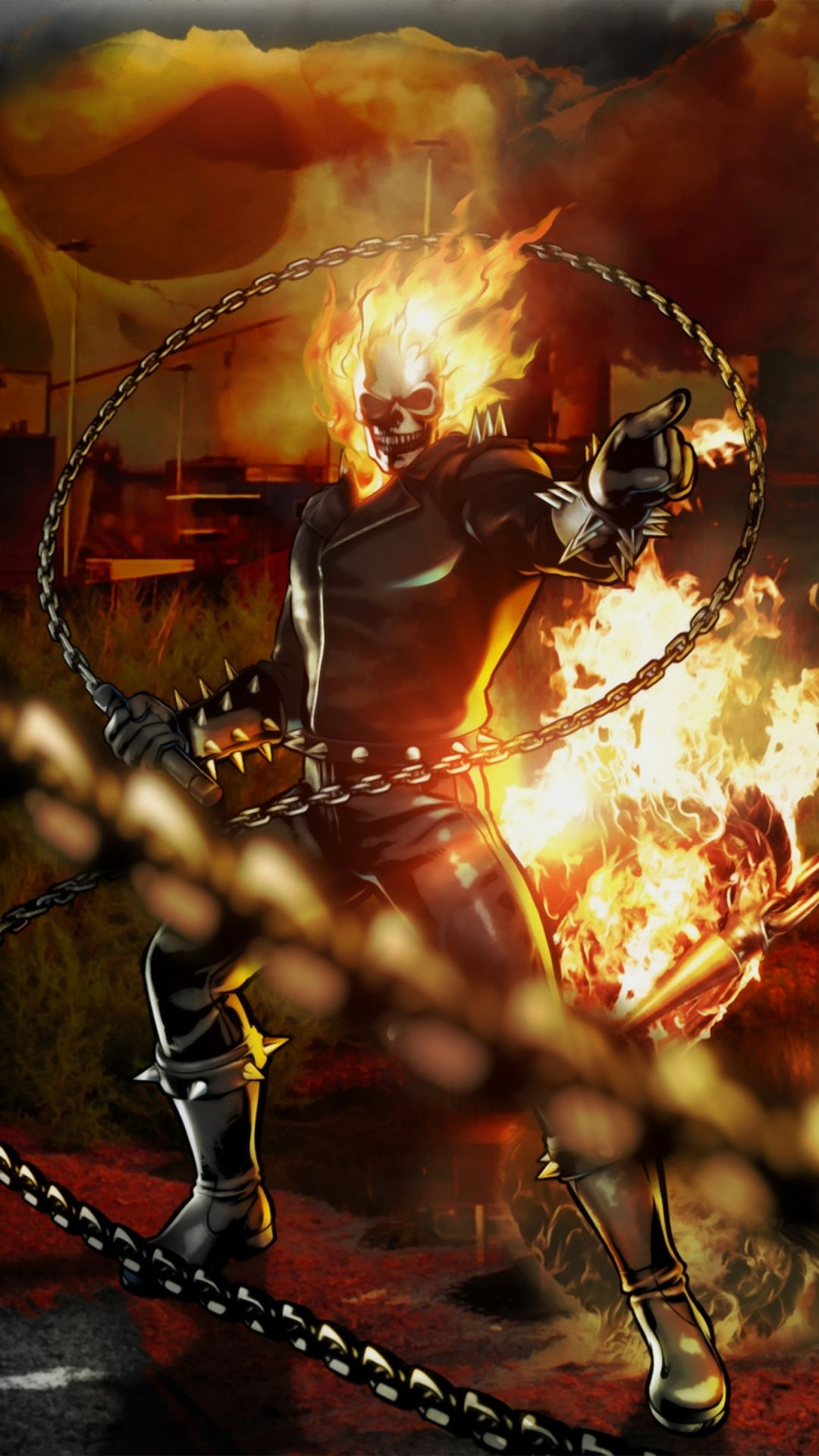 Marvel Vs Capcom 3 Capcom Marvel Ghost Rider With Images