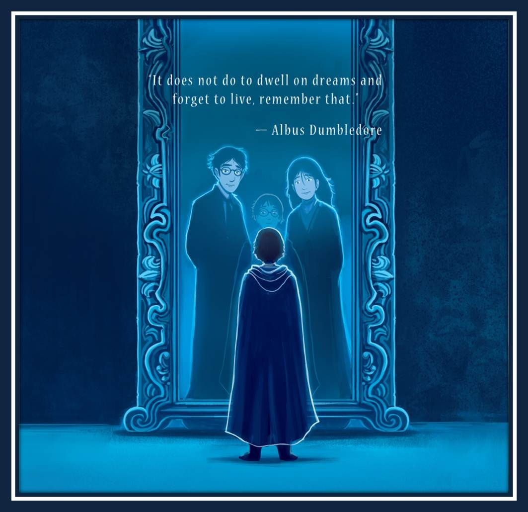 The Mirror Of Erised Harry Potter Zitate Harry Potter Filme