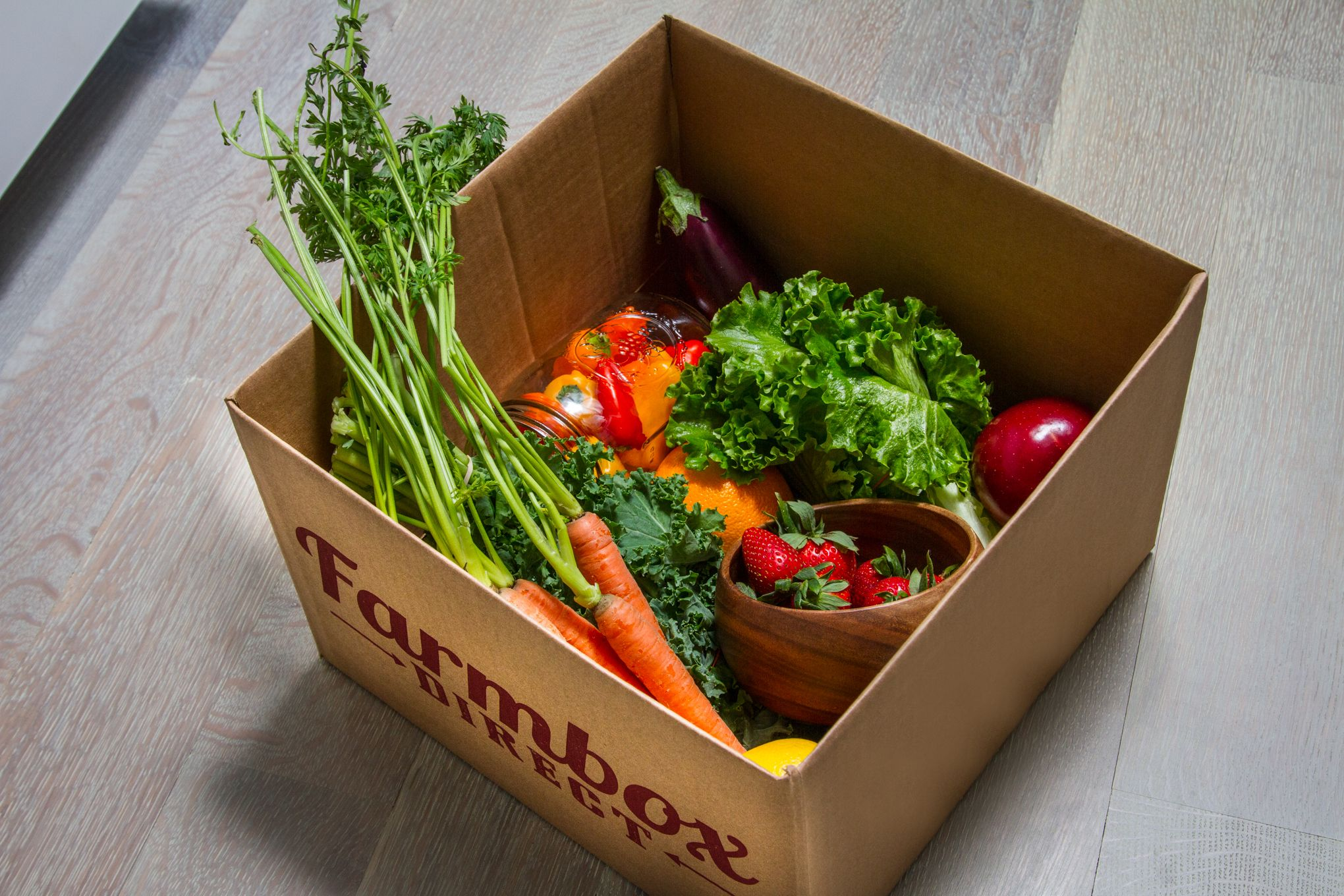 Fresh local produce delivered to your door! Organic and