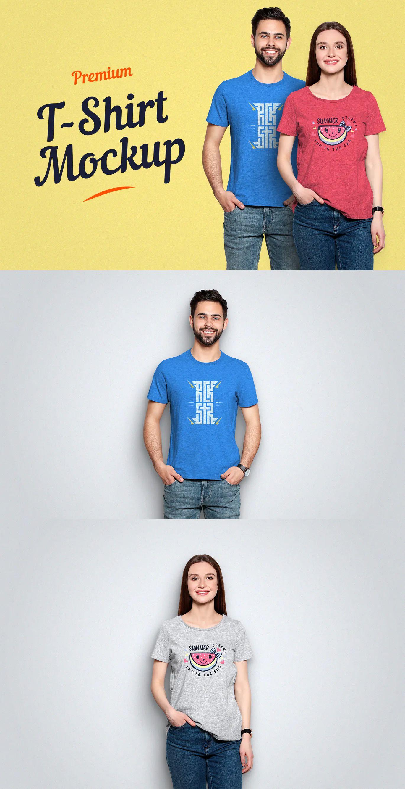 Download Premium T Shirt Mockup Shirt Mockup Tshirt Mockup Mockup
