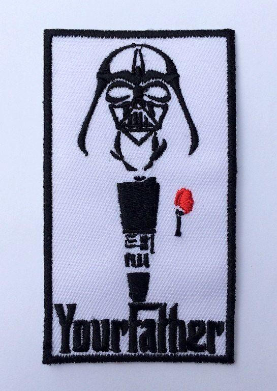 Stormtrooper w// Japanese Rising Sun Star Wars Inspired Embroidered Iron On Patch