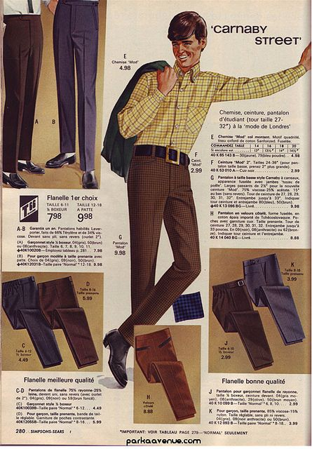 Carnaby Street Fashion Sears - Mod by Patrick from Parka Avenue, via Flickr