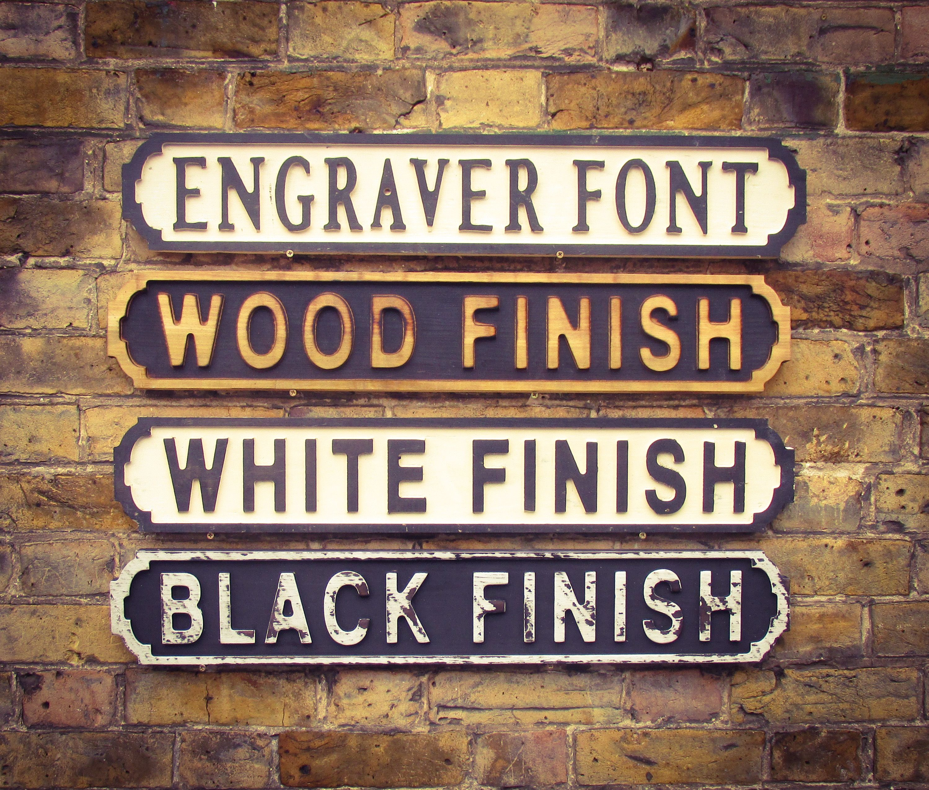 Personalised Vintage Street Signs Retro Design Uk Personalized