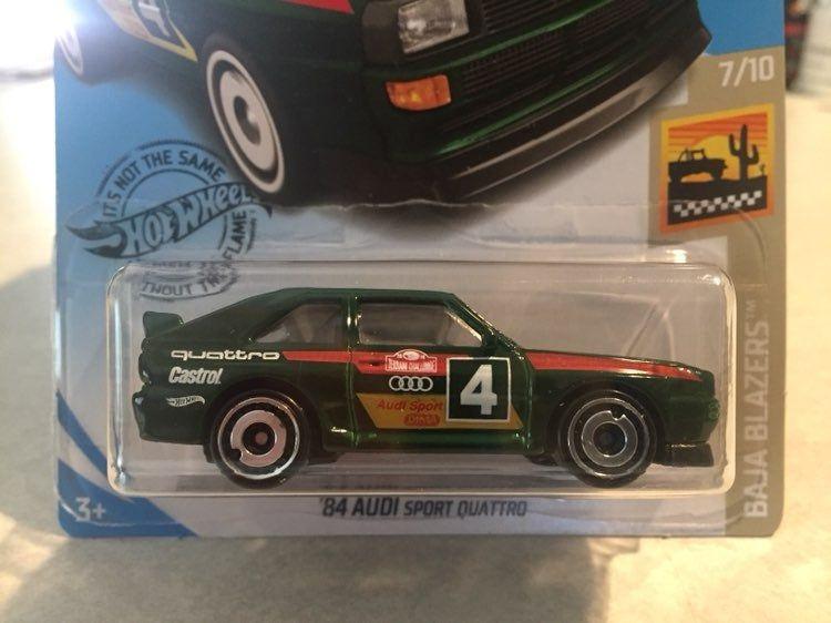 Hot Wheels '84 Audi Sport Quattro 7/10 Mercari Audi