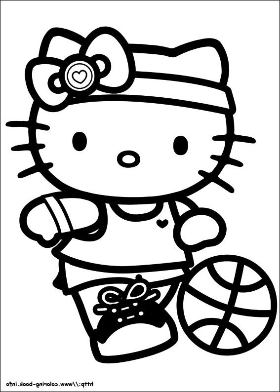 Pin by alifiah on Coloring Pages | Pinterest | Hello kitty