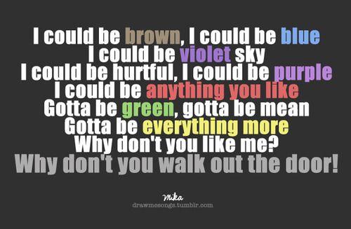 Mika Grace Kelly Mika Music Quotes Lyrics Gracekelly