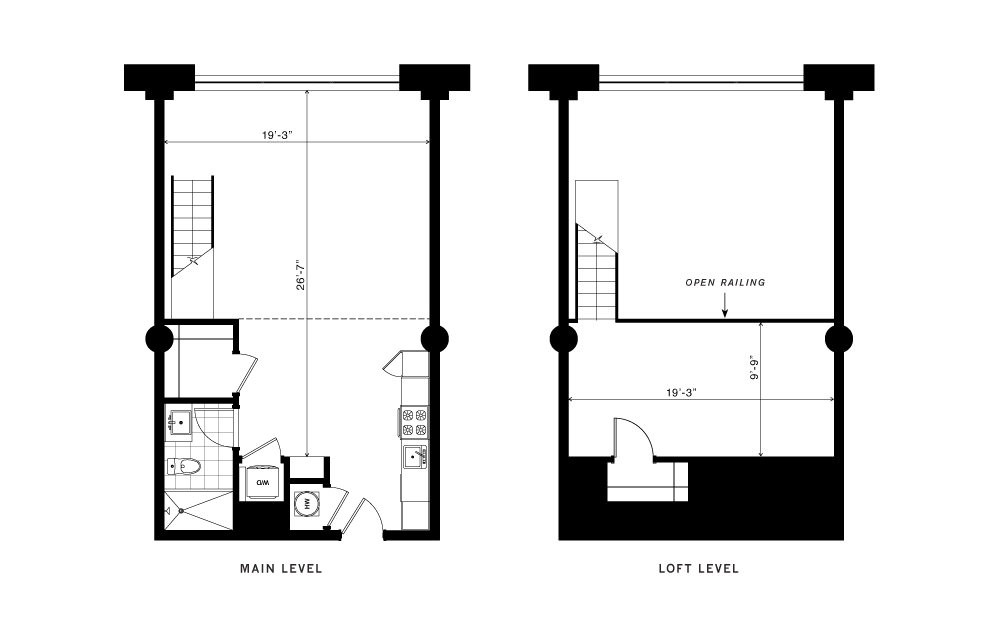 The Foundry 1 Bedroom Floorplan Layout With 1 Bath And 900 Square Feet Apartments For Rent Floor Plans Bedroom Apartment