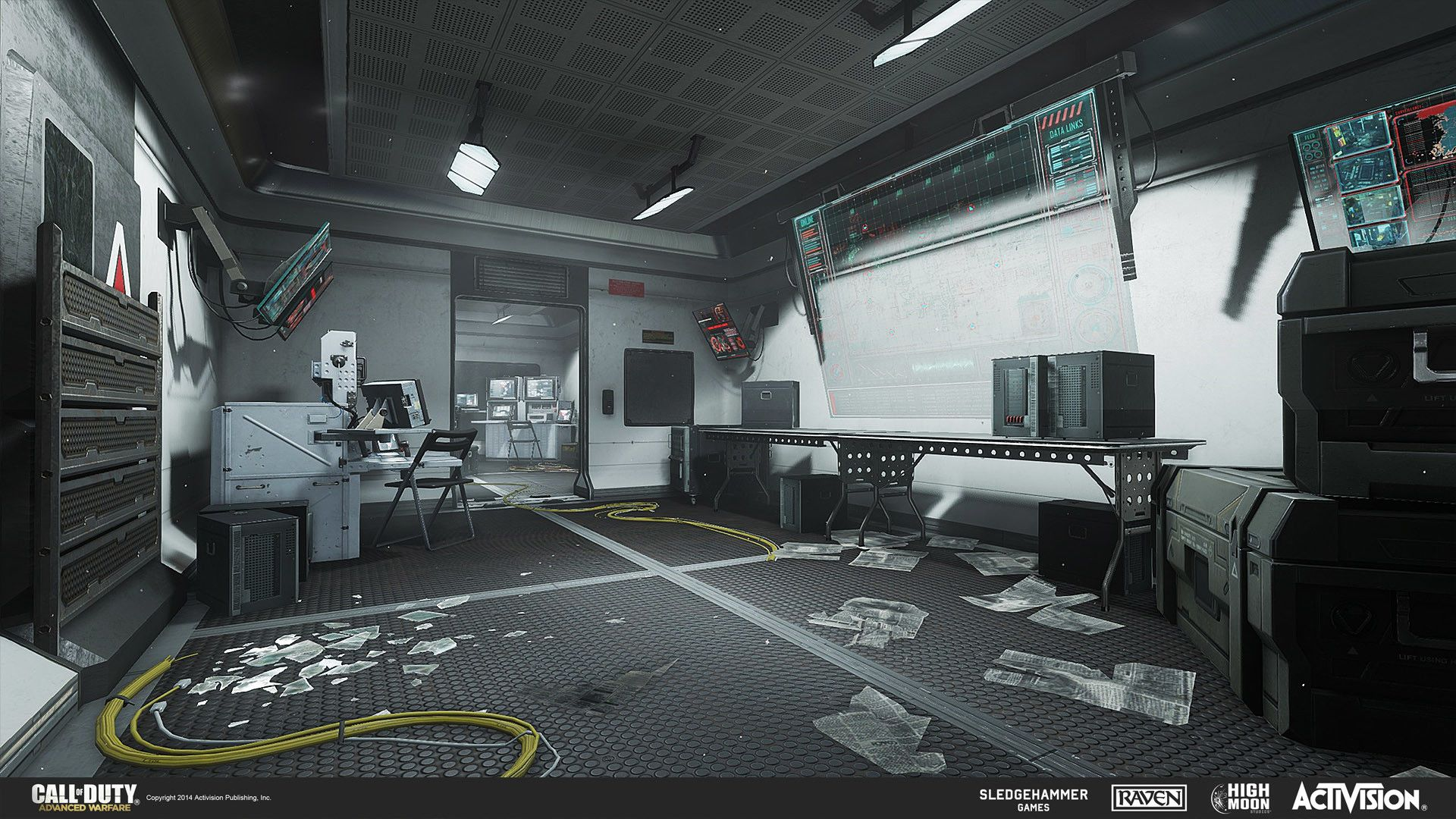Artstation call of duty advanced warfare multiplayer