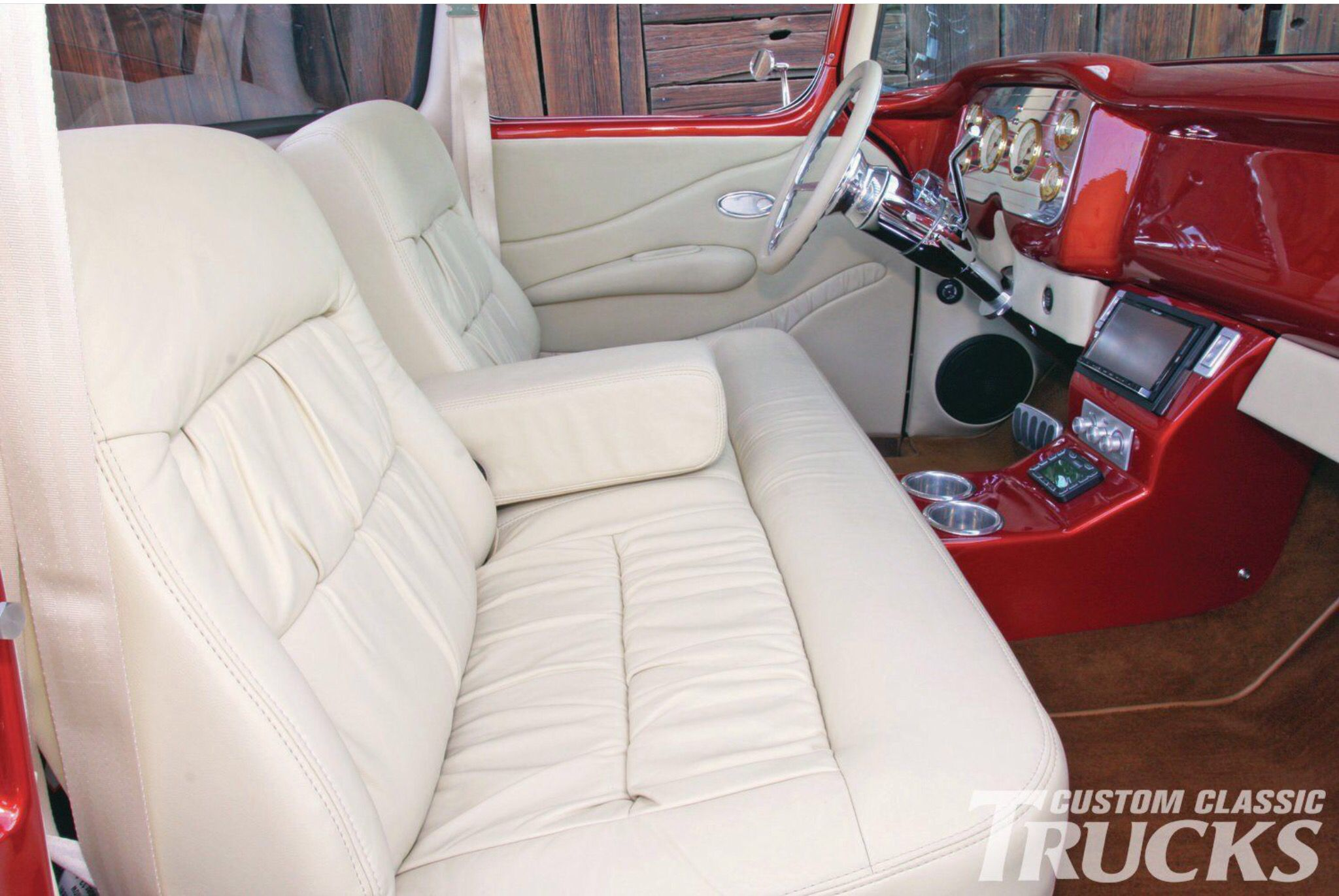 This 1956 gmc 100 went through a project and five donor trucks before it was show ready