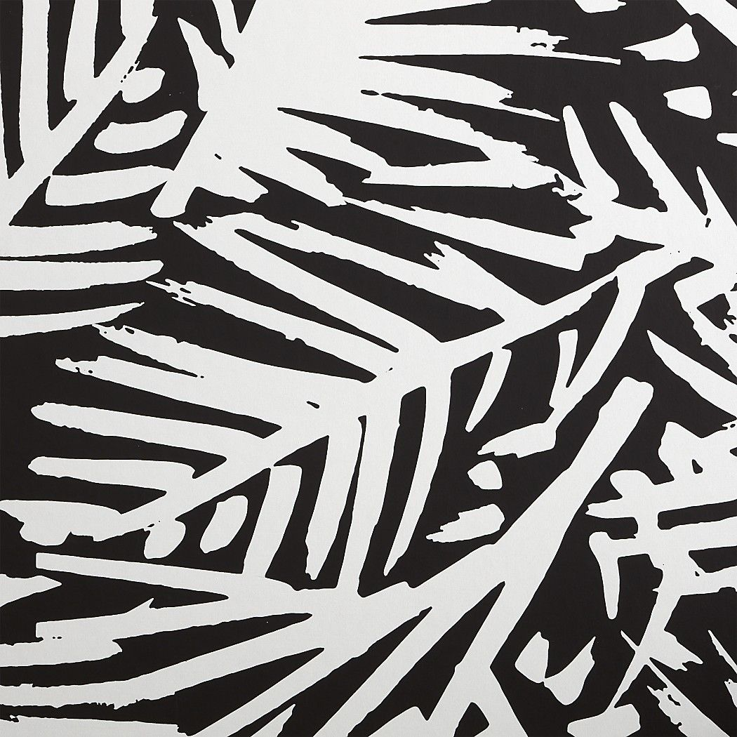 Caymen Black And White Palm Wallpaper In 2019 Palm