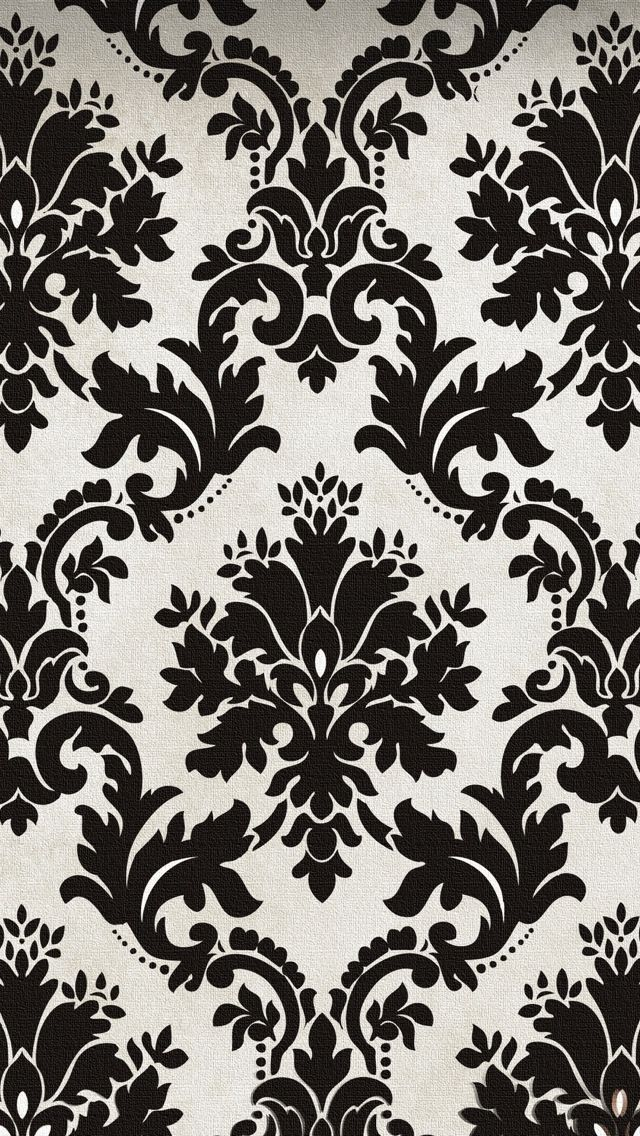 Blak And White Pattern Texture Wallpaper Iphone 5 640 1136