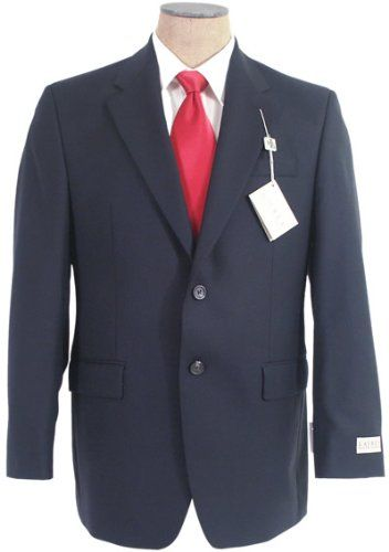 Ralph Lauren Mens SB 2B Solid Navy Blue Wool Suit - Size 54L Size: 54L (US) / 64L (EUR); Pants Waist Size: 50. Color: Solid Navy Blue ; Pockets: Two flap; Three inside; Left Chest; Four sleeve buttons. Jacket: Two button; Single breasted; Center Vent; Fully Lined; Notch Lapels; Lightly Padded Shoulder. Pants: Double Pleated; Two off the seam slash pockets; Two back pockets; Unhemmed; Classic fit.... #RALPH_LAUREN #Apparel