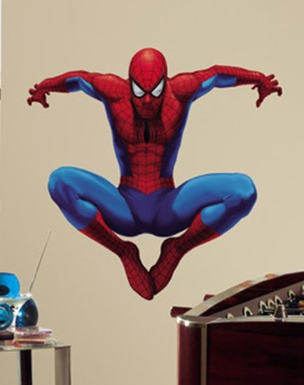 Wallstickers Spiderman, stor