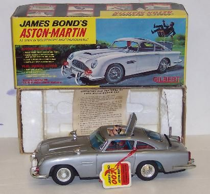 THE classic Corgi Bond Aston Martin with ejector seat, bullet proof ...
