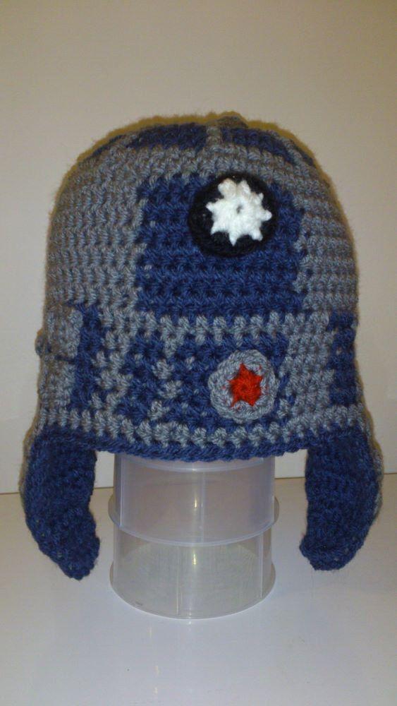 Pattern only - R2D2 Hat - DIY | Crafty Ideas | Pinterest | Crochet ...