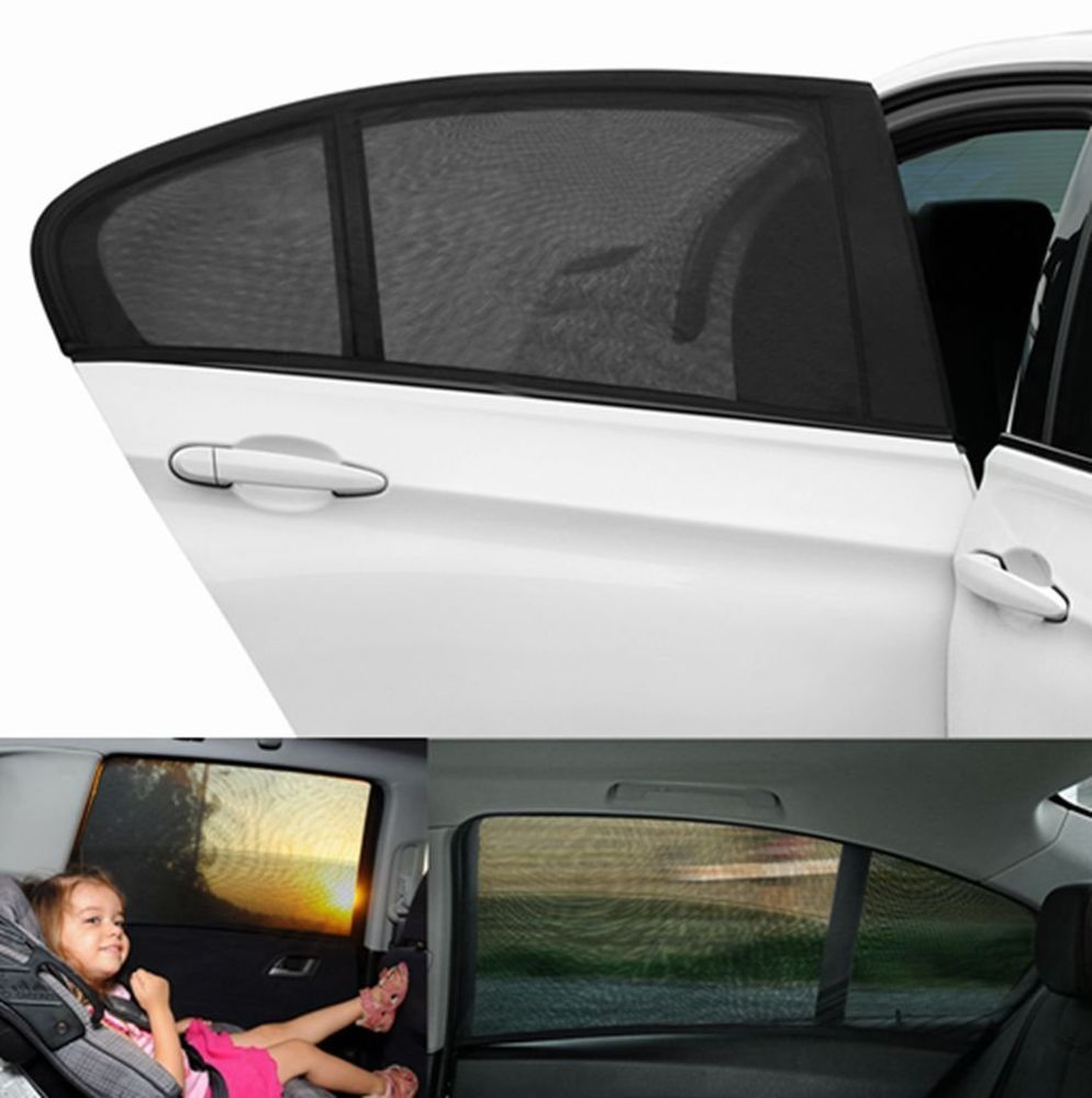 Auto Car Window Sunshade Breathable Mesh Screen Cover