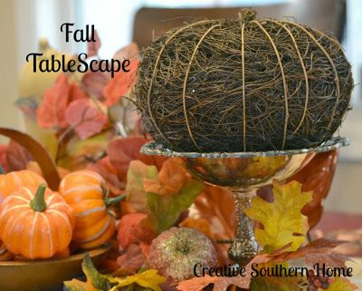 Creative Southern Home: It's Fall Y'all Day 3: Fall Tablescape
