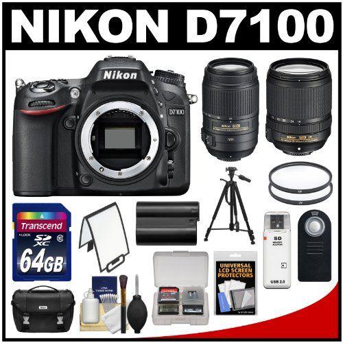 Nikon D7100 Digital SLR Camera Body with 18-140mm & 55-300mm VR Lens + 64GB Card + Case + Battery + Tripod + Filters + Remote - http://dslrcameras.dealsforblackfriday.com/2009/nikon-d7100-digital-slr-camera-body-with-18-140mm-55-300mm-vr-lens-64gb-card-case-battery-tripod-filters-remote.html