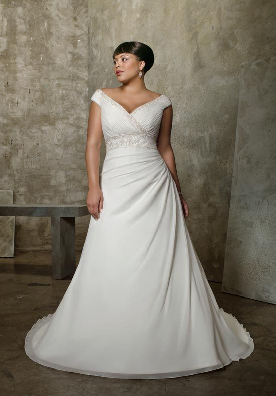 17 Best images about Elegant plus size wedding dresses on ...