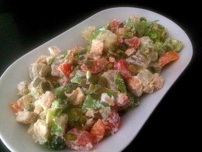P.S. Eu Cozinho: Salada Vegetariana com Ricotta
