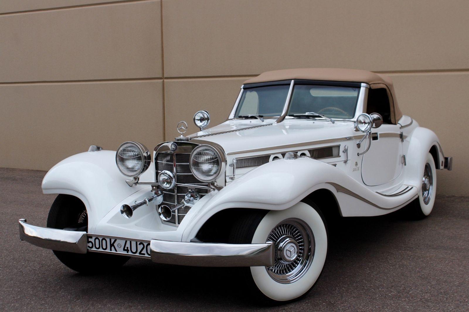 Chevy engine 1934 Replica kit Mercedes Benz 540K S | Replica cars ...