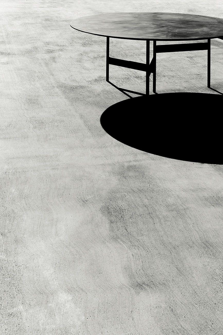 Notes table design Massimo Mariani, concrete top   Shooting 2016 ...
