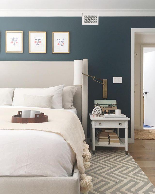 teal walls + white bedding Sweet Dreams Pinterest Teal walls