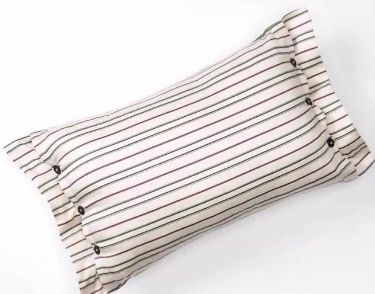 New CHAPS Home PRESTON PAISLEY 40x40 Decorative Pinstripe Throw Awesome Chaps Decorative Pillows